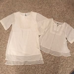 NWT Old Navy dress and shirt size large (10-12)